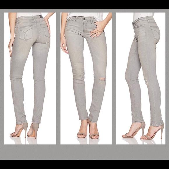 Calvin Klein Jeans Denim - Calvin Klein MidRise Ultimate Skinny Jeans 28 x 32